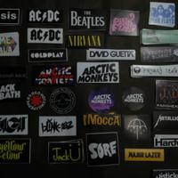 Sticker Musik | Stiker Helm |Stiker Motor| Arctic Monkeys |Oasis