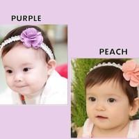 Banting Harga Bandana Anak Bayi Little Rose