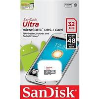 32GB Class 10 Sandisk Micro SD 48Mbs Memory Card MicroSD MMC Memori HP