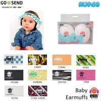 EMS 4 Bubs Baby Earmuff (Cangkang Putih)