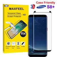 Tolifeel Tempered Glass 3D Edge Samsung S8 Plus Case Friendly