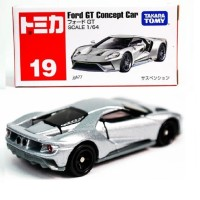 Ford GT Concept Car no 19 silver Tomica Takara tomy