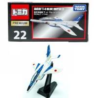 Tomica Premium 22 JASDF T-4 Blue Impulse