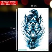 TEMPORARY TATTOO GAMBAR FOX/RUBAH. TATO TEMPEL TAHAN AIR MURAH, LC-571