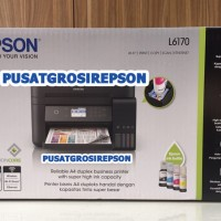 PRINTER EPSON L6170 PENGGANTI L605 WIFI COPY SCAN ETHERNET