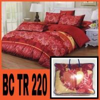 bed cover set ( sprei dan bed cover ) uk. 180 x 200 cm