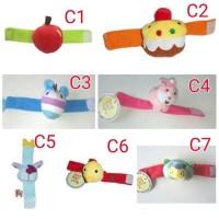 Mainan Gelang Tangan Rattle Bayi / Gelang Tangan Bayi Bunyi