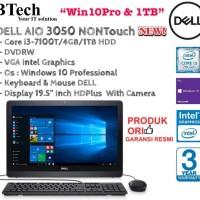 DELL AIO 3050 NON Touch i3-7100T/4GB/1TB/DVRW/WIN10PRO.