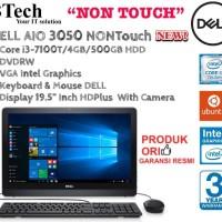 DELL AIO 3050 NON Touch i3-7100T/4GB/500GB/DVRW/DOS.