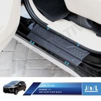 Mitsubishi Xpander Sillplate Samping Hitam / Side Scuff Plate Black