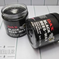 DAX BLACK BEES-WAX / BEESWAX POMADE OILBASED 3.5OZ FREE SISIR