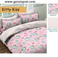 Promo Sprei Kitty Kiss Murah dan Grosir ukuran 120×200 Jakarta Bogor