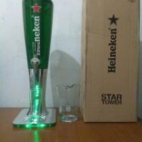 beer tower heineken / tower beer / keg / dispenser tower / bir tower