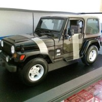 Promo Miniatur Dipecat Mobil Jeep Wrangler Sahara Asli Original Maisto