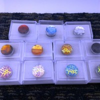 1 paket isi 11 set Pin bros Magnet Hijab Murah Mewah 11 kotak bros