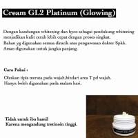 Jual Glowing Cream Whitening Super Tinggi Wajah pemutih cepat ampuh aman Murah