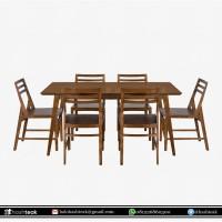 Furniture Meja Makan Set Kayu Jati Jepara / Dining Table Set / #teak