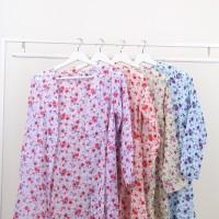 Oma Holley Fashion Mauve Cardigan Long Sleeve Flowers Warna-Size M