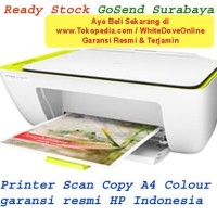 Printer Scan Copy HP DeskJet 2135 cartridge kartrid 680 warna