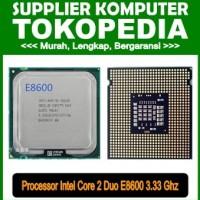 Processor Intel Core 2 Duo 3 33 Ghz E8600 proc core2 duo e8600