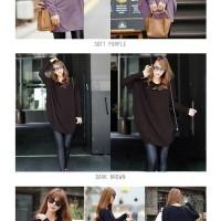 MODEL BAJU TERBARU 2018 Kaos Panjang / Baju Atasan Wanita Ballon Long