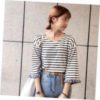 MODEL BAJU TERBARU 2018 Kaos Baju Fashion Wanita Shirt Kemeja Blouse