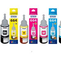 Tinta printer Epson 664 BK, C, M, Y Original Ink - For L120,L210 murah