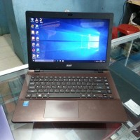 LAPTOP SECOND ACER E5-471 CORE I3 HASWELL ISTIMEWA MULUS SIAP BUAT LEM