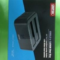 "USB 3.0 to Sata6G Dual Bay Docking Station Hardisk 2.5""/3.5"" Unitek"