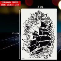 TEMPORARY TATTOO PREMIUM IMPORT. TATO TEMPEL TAHAN AIR MURAH, TH-050