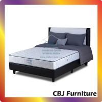 Comforta Kasur Spring Bed Super Fit Silver - Full Set 160x200