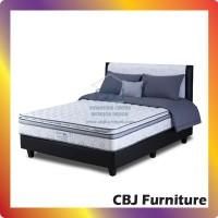 Comforta Kasur Spring Bed Super Fit Platinum - Full Set 160x200