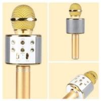 #EH134 / MIC WSTER WS 858 Wireless Bluetooth Karaoke - Mic Smule