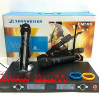 Mic Wireless Sennheiser EM 508 + Hardcase ( Handheld )
