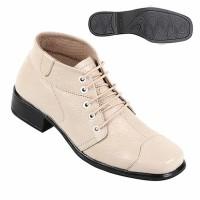 Sepatu Boot Wanita Bahan Kulit Boots zf 1820 Zeintin