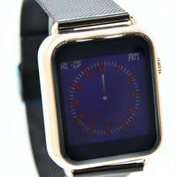 jam tangan digitec touchscreen original dg3059 model apple black rose