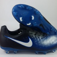 Sepatu Bola Nike Magista Opus 2 Hitam Biru FG Replika Impor