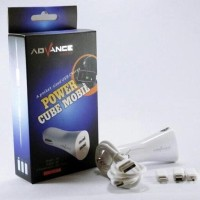 CAR CHARGER ADVANCE 2IN1 OUTPUT