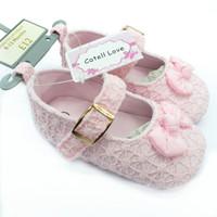 Sepatu Bayi Perempuan Prewalker Pink Catell Love Model Pita