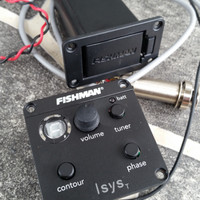 Fishman Isys Tuner preamp akustik accoustic equalizer