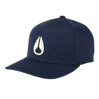 Nixon Deep Down FF Athletic Fit Hat All Navy Cream S M C10762849-22