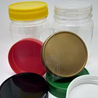Botol Toples Plastik PET 200ml Love / Toples Selai 200ml / Sambal
