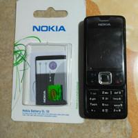 hp GSM Nokia 6300 seken murah plus batre baru.bisa nego