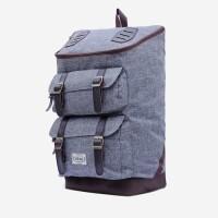 Tas Backpack Visval Majestic Charcoal Series / Tas Laptop / Tas