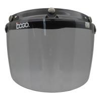 Visor/Kaca Helm Retro Bogo Flat datar Smoke Original