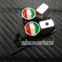 Tutup Pentil Bendera Italia