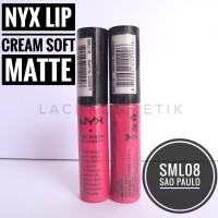 ECER NYX LIP CREAM Soft Matte SML08 Sao Paulo