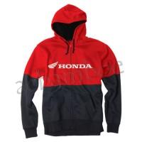 Jaket Hoodie Zipper Factory Effex Honda moto cross MX racing Size M-XX