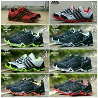 Sepatu pria olahraga lari jogging gym hiking Adidas Ax2 Goretex