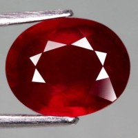 Magnificent Natural Ruby 3.18 Ct. Top Blood Red  Madagascar